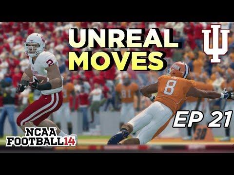 NCAA Football 14 Dynasty | Indiana Hoosiers - BREAKING ANKLES! BREAKING NECKS! - Ep 21