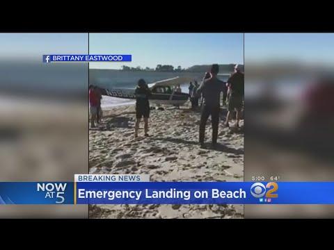 Plane Makes Emergency Landing On Beach Mp3