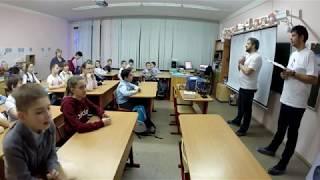 Открытые уроки в Школе №1 г. Химки