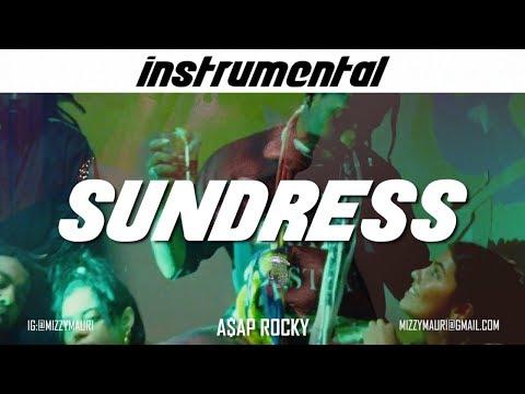 A$AP Rocky - SUNDRESS (INSTRUMENTAL) *reprod*