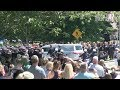 Thousands of police pay respects at funeral of slain Weymouth cop