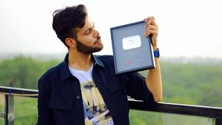 #Vlog64 When I Received My Silver Play Button From YouTube !
