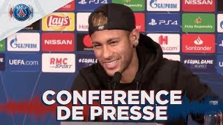 Conference de presse avant Paris Saint-Germain - Belgrade