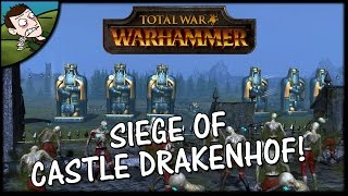 SIEGE OF DRAKENHOF! Total War WARHAMMER Gameplay - Dwarfs v Vampire Counts