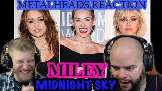 GREAT SONG! | MILEY CYRUS - MIDNIGHT SKY | Metalheads Reaction