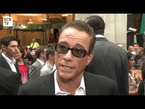 The Expendables 2 UK Premiere Interviews