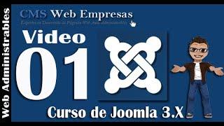 1. Instalación de Joomla 3 - Explicado paso por paso | Curso de Joomla 3.0