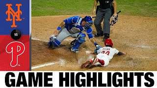 Bryce Harper's walk-off lifts Phillies, 6-5 | Mets-Phillies Game Highlights 8/14/20
