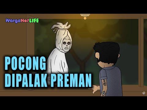 Warkop Pocong Kena Pajak - Animasi Horor Kartun Lucu - Warganet Life