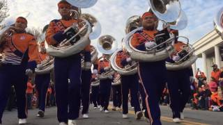 Did Clemson national championship parade in one minute