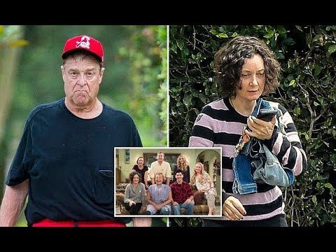 John Goodman and Sara Gilbert spotted after Roseanne is canceled
