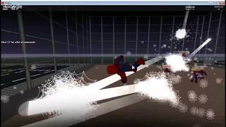 Roblox and the Spider-Man map