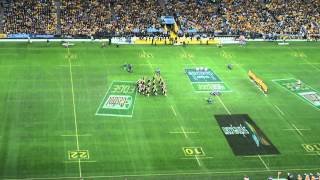 Haka! All Blacks vs Wallabies The Rugby Championship 2013 ANZ Stadium Sydney