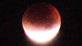 SUPERMOON 2015 LUNAR ECLIPSE  VIDEO (SUPER BLOOD MOON)