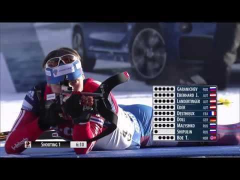 Twists and Turns ! Biathlon World Cup 2 (2015 - 2016) - Men's 12,5 km Pursuit Race