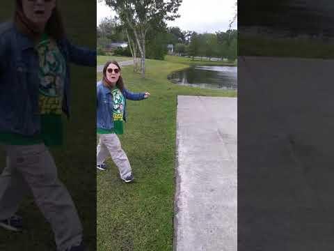 Crazy crack head at Blue Cypress Park, Jacksonville Fl.