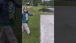 Crazy crack head at Blue Cypress Park, Jacksonville Fl.