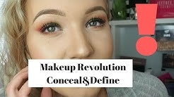 Paras Peitevoide? Testissä Makeup Revolution Conceal&Define