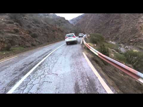 Motorbike ride High Atlas Morocco