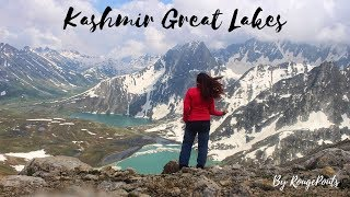 Kashmir Great Lakes Trek July 2019 | An Experience in Heaven | RougePouts