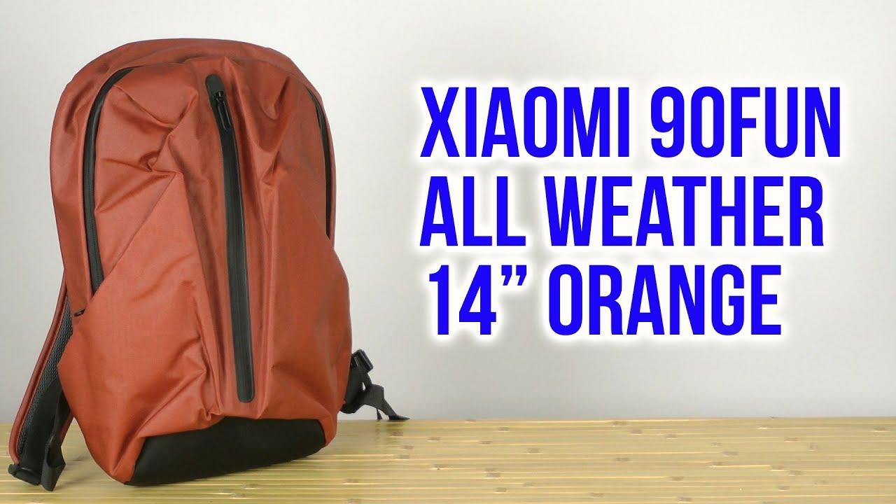 07235bd2b828 Распаковка Xiaomi 90FUN All Weather 14 Orange 6970055342919