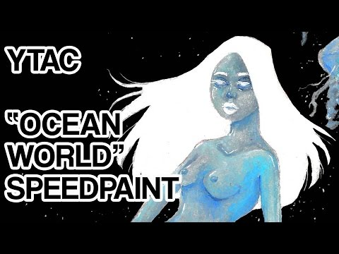 Ocean World | Youtube Artists Collective | Speedpaint
