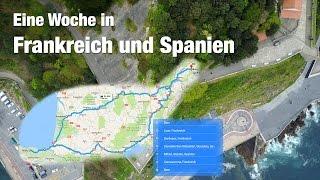 Roadtrip durch Frankreich und Spanien