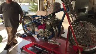 Honda CB750A Hondamatic Custom First Start