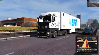 Euro Truck Simulator 2 1 30 Mercedes Actros MP3 Reworked v2 1 Schumi 1 30 DLC 39 s Mods