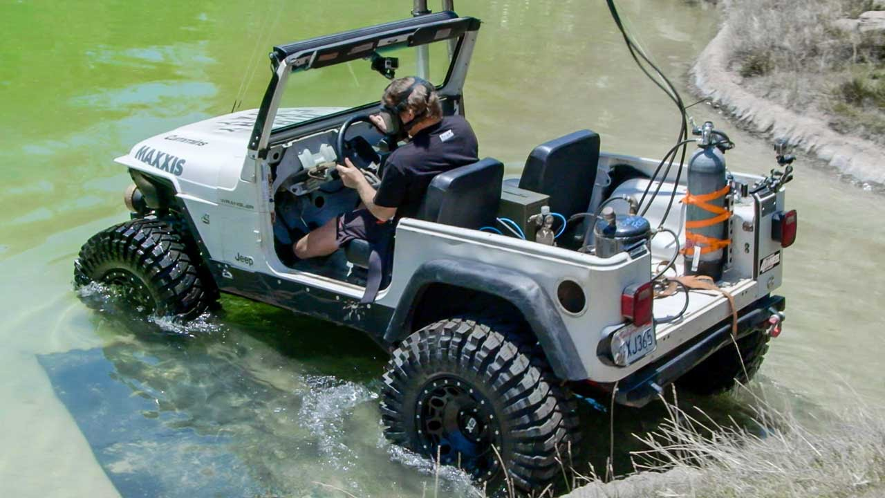 Diesel Jeep Drives 12 Feet Underwater Dirt Every Day Ep