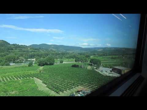 Train Rides, Italy (Rome to Florence)