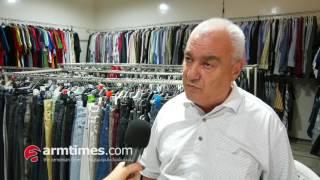 Second hand խանութներում վաճառքը օր օրի նվազում են  մարդիկ 1500 դրամ չունեն շապիկ գնեն