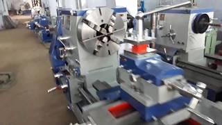 OM BRAND HEAVY DUTY LATHE MACHINE 10 FEET WIDTH OF BED : 450 MM, HE...