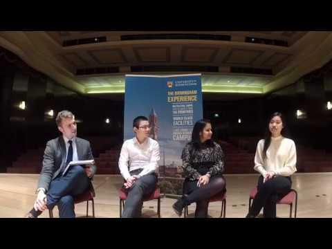 International Students Live Q&A Facebook Live