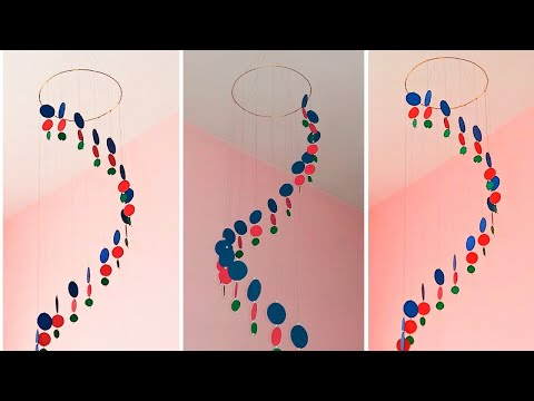 Wall hanging craft | DIY wind chime | Wall decor