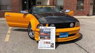 MatMetrics.ca - Ford Mustang Custom Fit Car Floor Mats