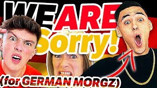 **OUR APOLOGY** GERMAN MORGZ explained by GERMANS 🥨 Fatih Brate IS Morgz?!