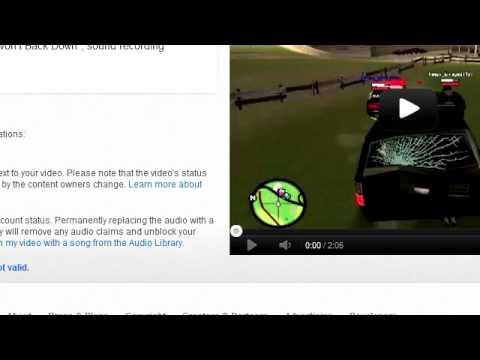 YouTube Audio UMG Copyright Claim Dispute Process