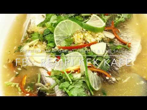 Resepi Dan Cara Masak Siakap Stim Limau Ala Absolute Thai