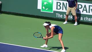BNP Paribas Open 2018 Women's Double R16, Su-Wei Hsieh/Barbora Strycova vs. Chan sisters