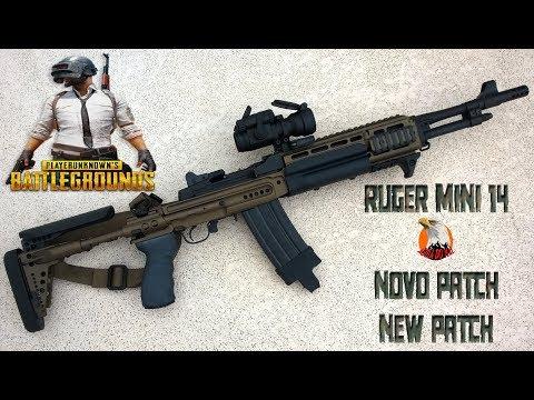 PUBG - Novo patch setembro - playerunknown's Battlegrounds  - Mini 14 -