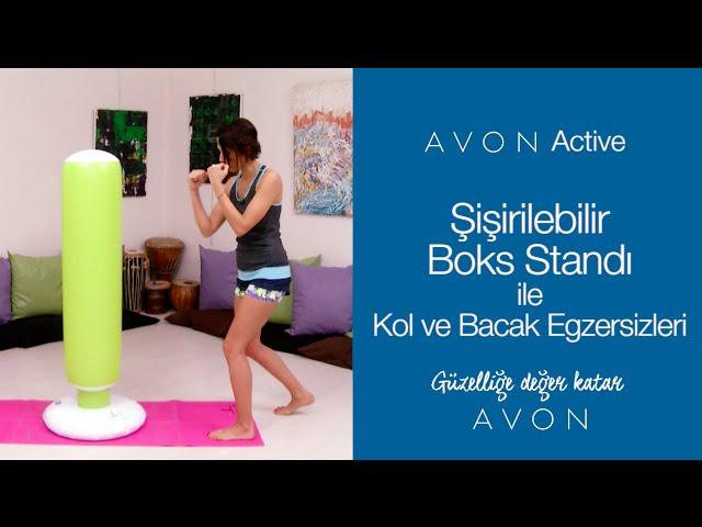 Şişirilebilir Boks Standı İle Kol Ve Bacak Egzersizleri
