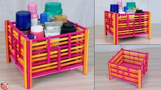 Newspaper Multi Storage Box | How to make DIY Multipurpose Organizer | Best out of waste Craft Idea