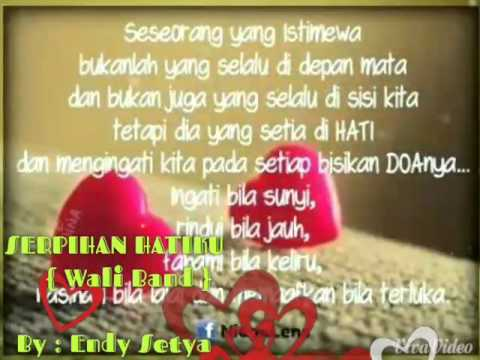 Cover Lagu Wali Band { Serpihan Hatiku } 《 Endy Setya 》