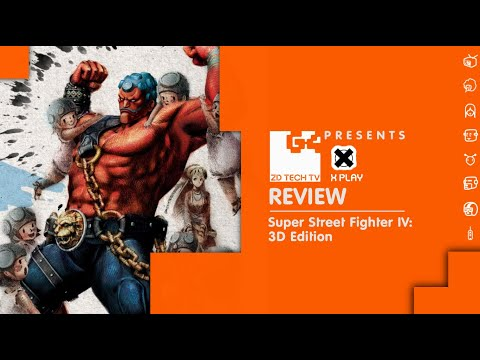 X-Play Classic - Super Street Fighter IV: 3D Edition Review