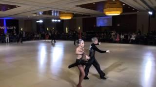 2017 Eastern DSC.  Peter and Shayna. Latin | Aleksey and Tatyana Moiseyev