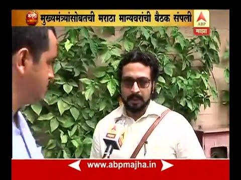 mumbai: actor amol kolhe on maratha reservation