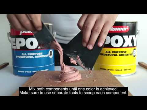 How To: Pioneer All Purpose Epoxy