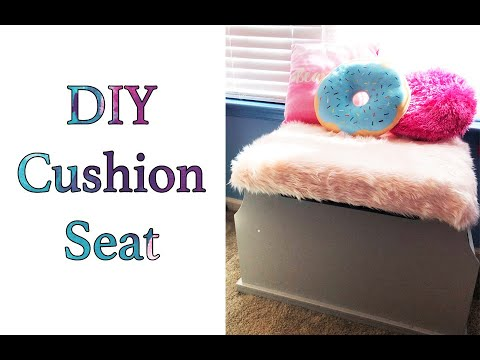 DIY Cushion Top | Toy Chest
