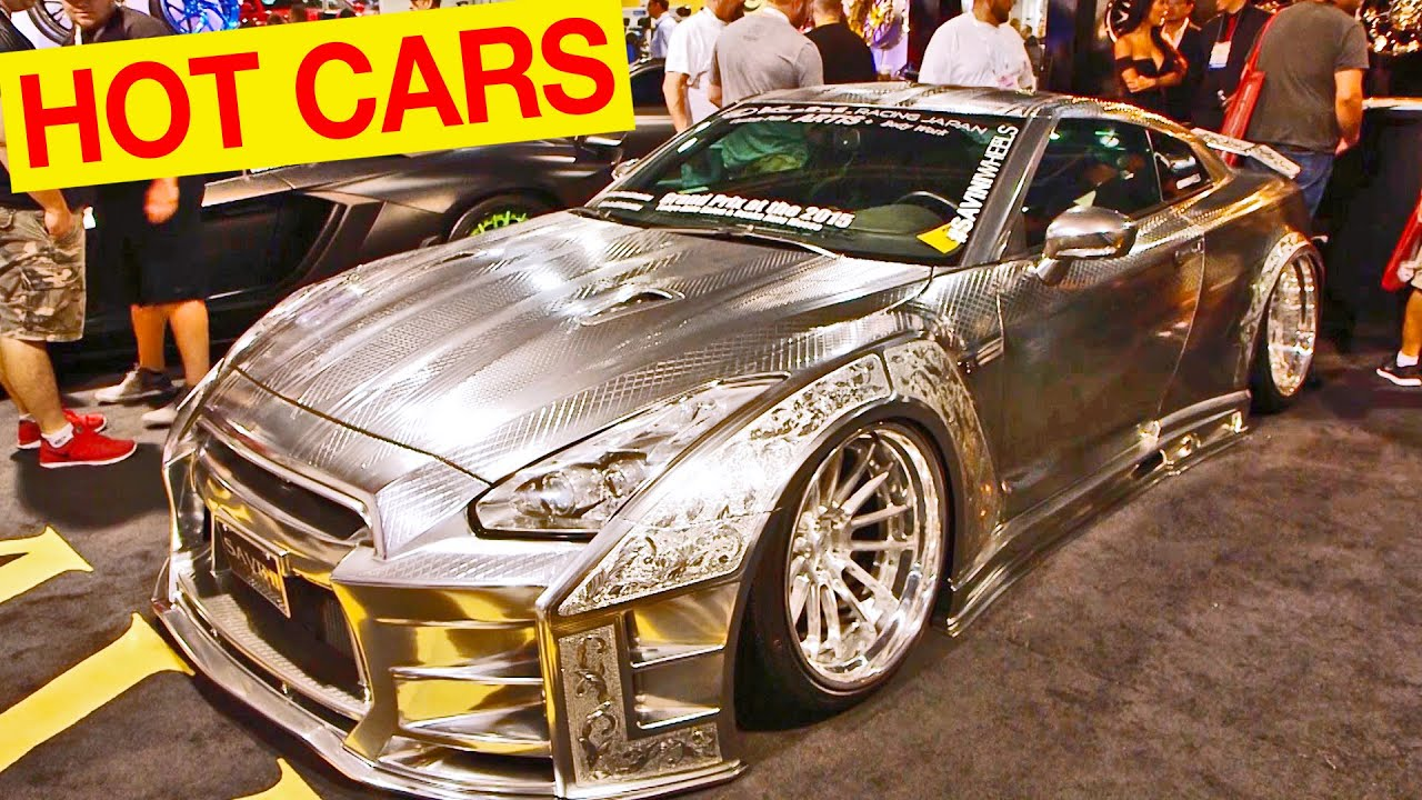 BEST HOT CARS At The SEMA Show In Las Vegas YouTube - Car show las vegas